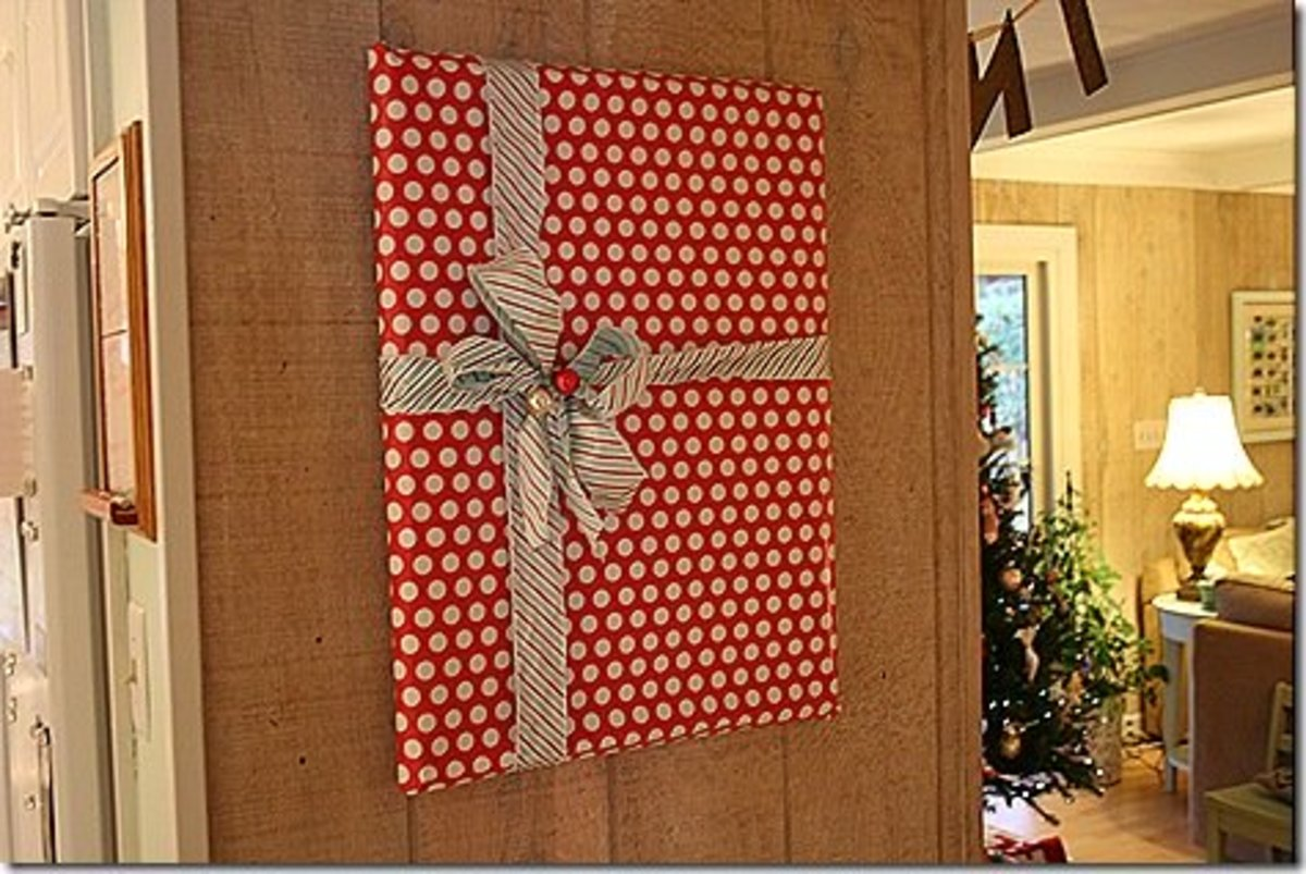 Wrapped Picture Frames