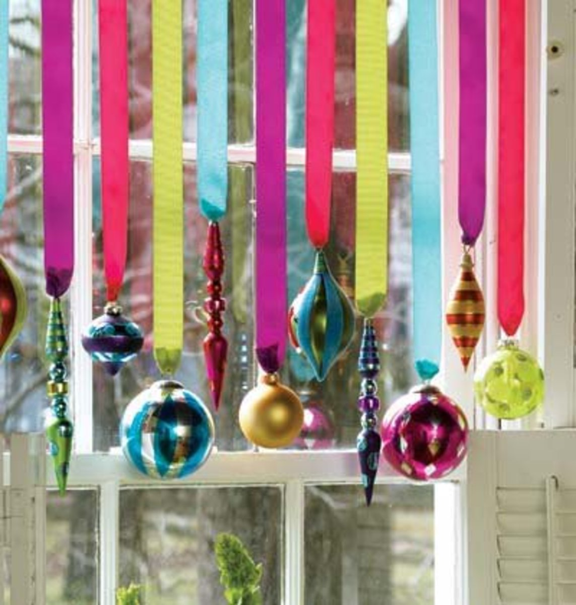 A Curtain of Ornaments