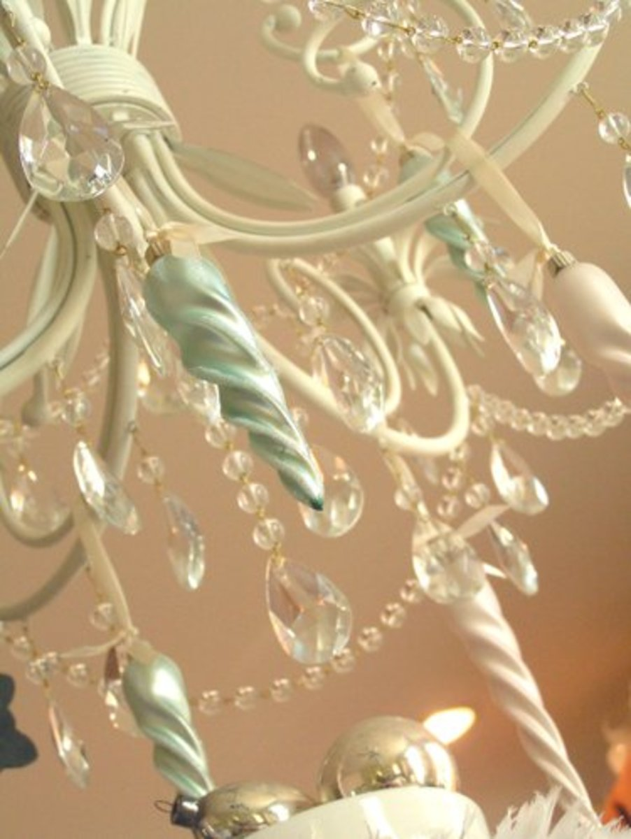 A Christmas Chandelier