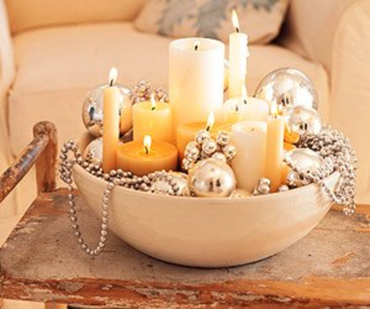 Glamorous Candle Holder