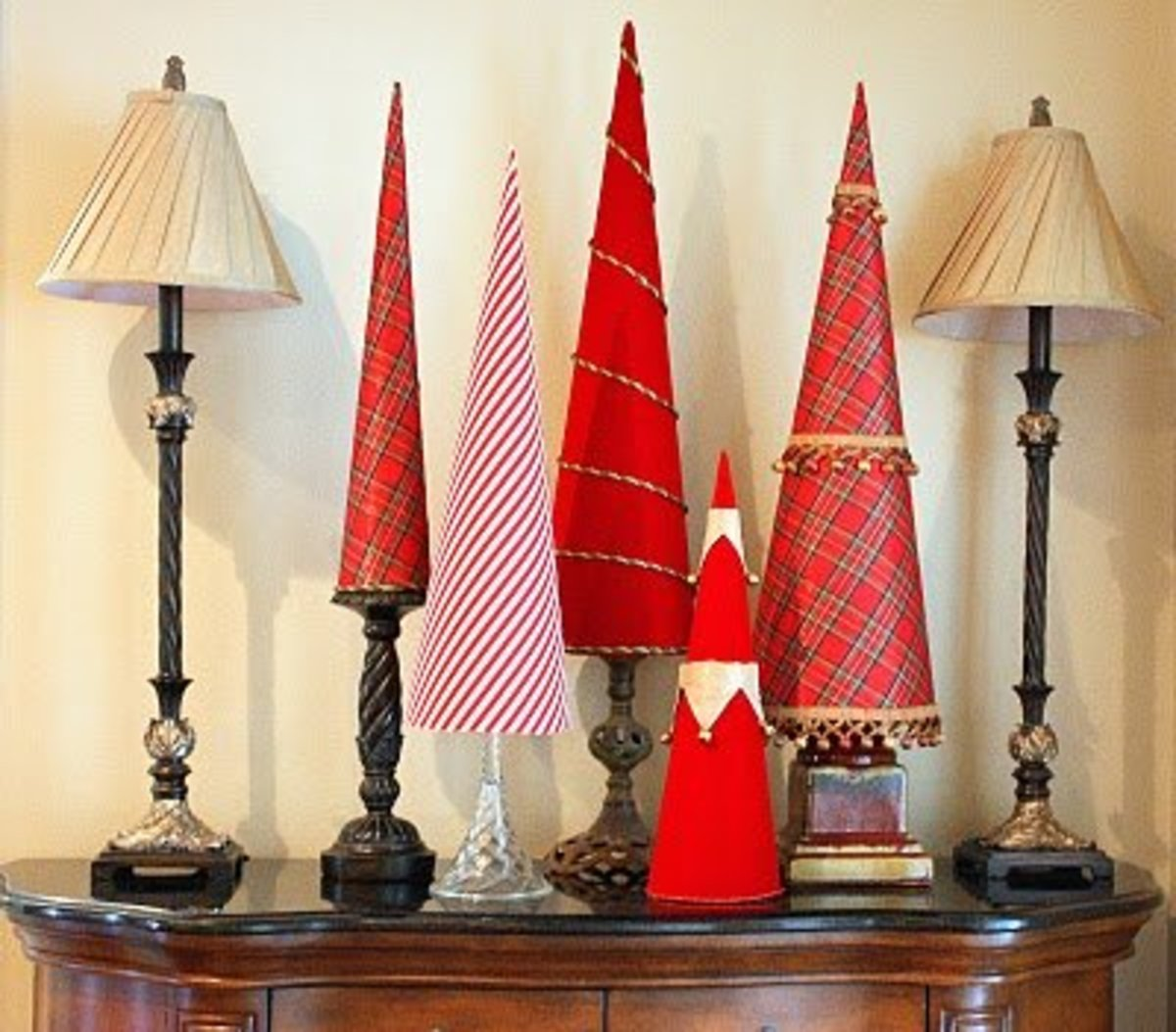 Fabric Tabletop Trees