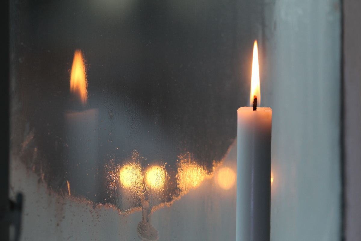 In Ireland, it is traditional to place a candle in the window at Christmas time to the light the way for travelers.