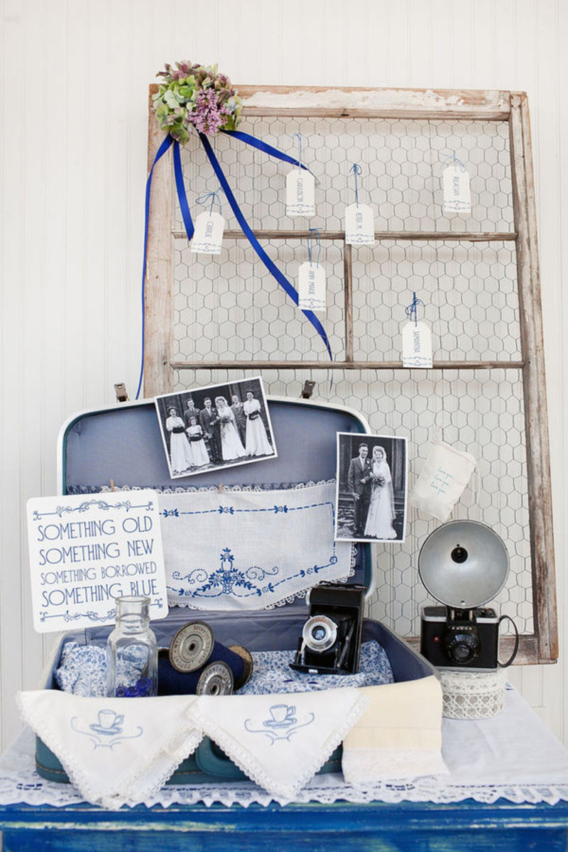 Repurpose an old suitcase