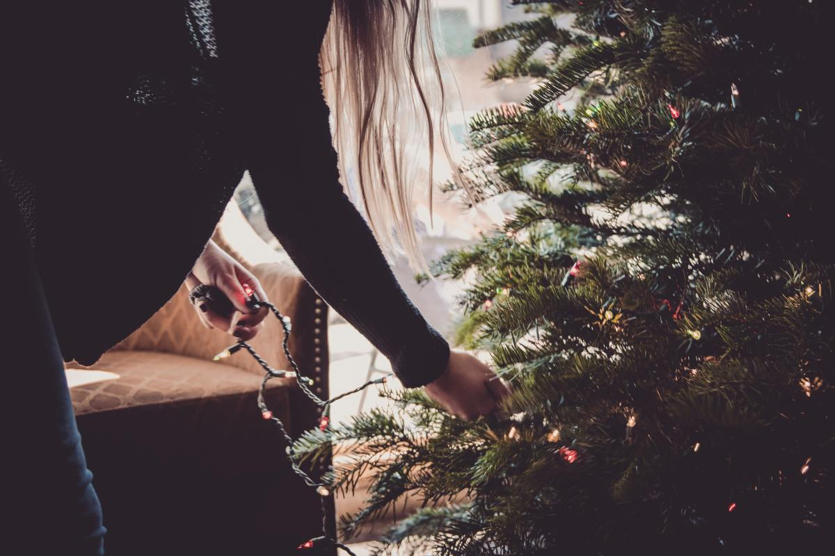 It's a big day when the tree comes out for decoration and our home begins to look like Christmas.