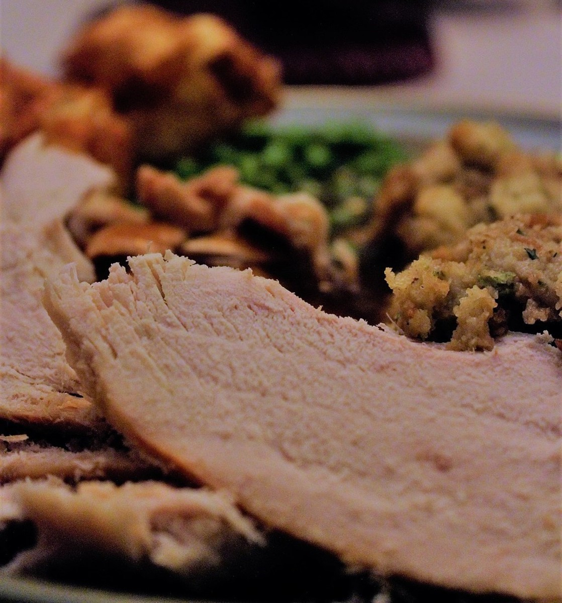 Turkey and dressing - the Thanksgiving favorite