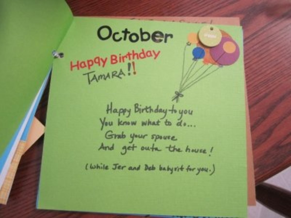 October is the new mom's birthday month.
