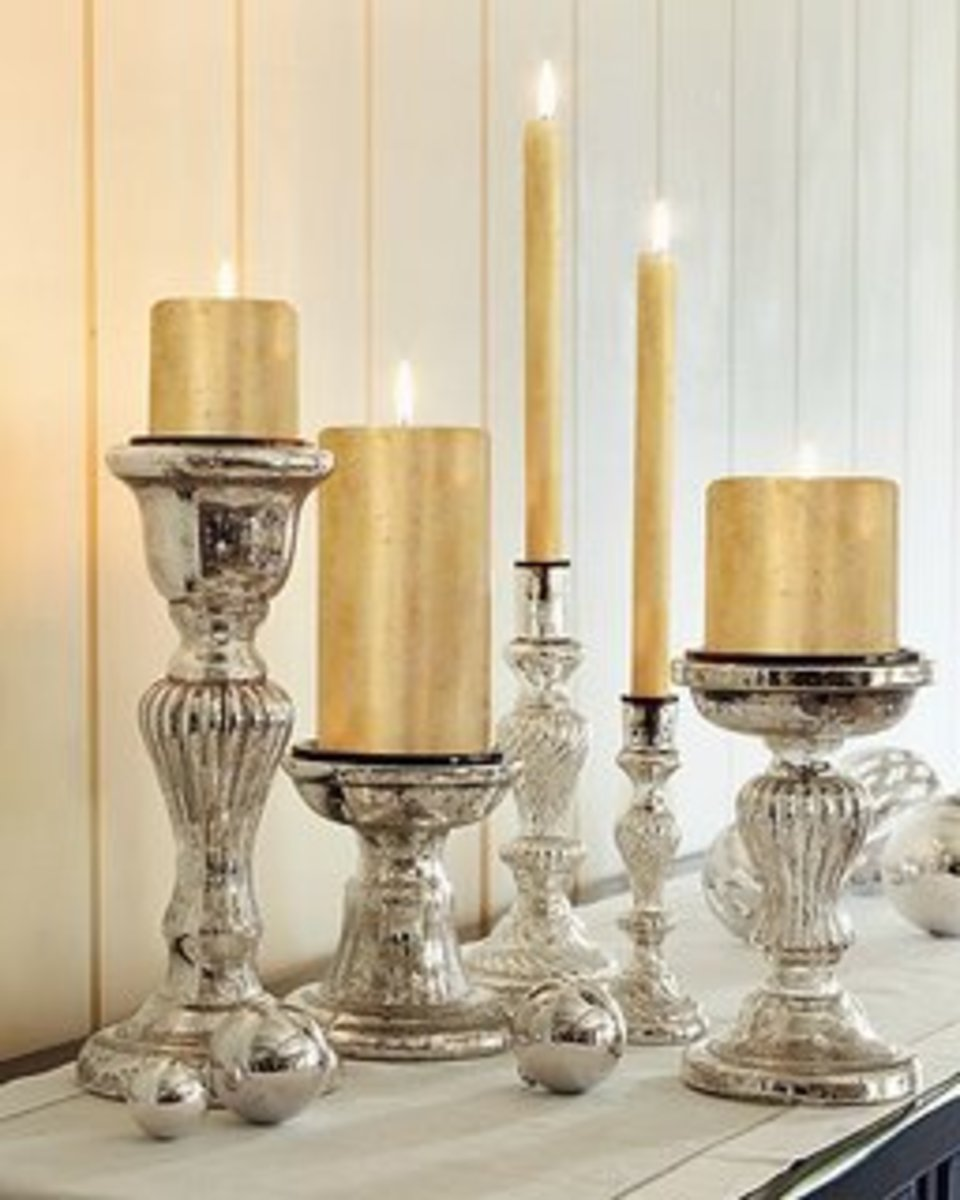 mercury glass what is it how to use it for your wedding decor