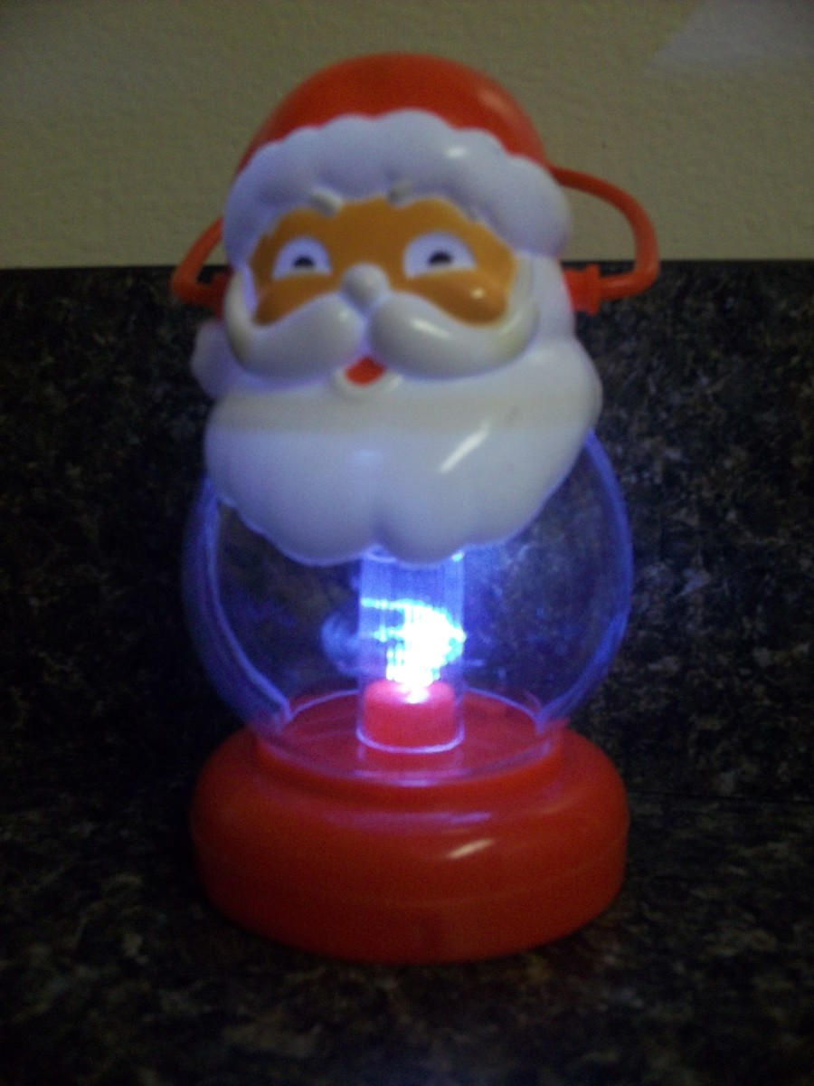 New for 2012: The Santa Lantern!