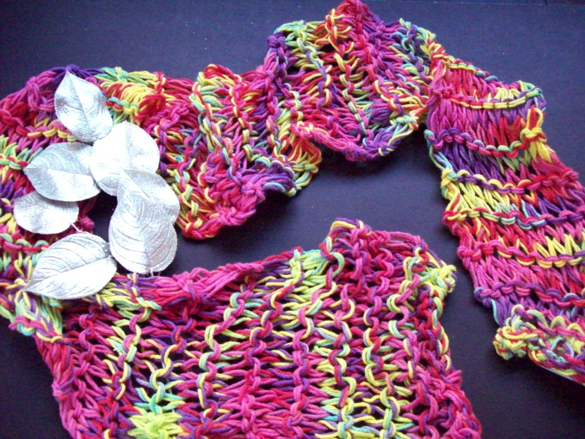My handmade scarves are one of my favorite presents to give.