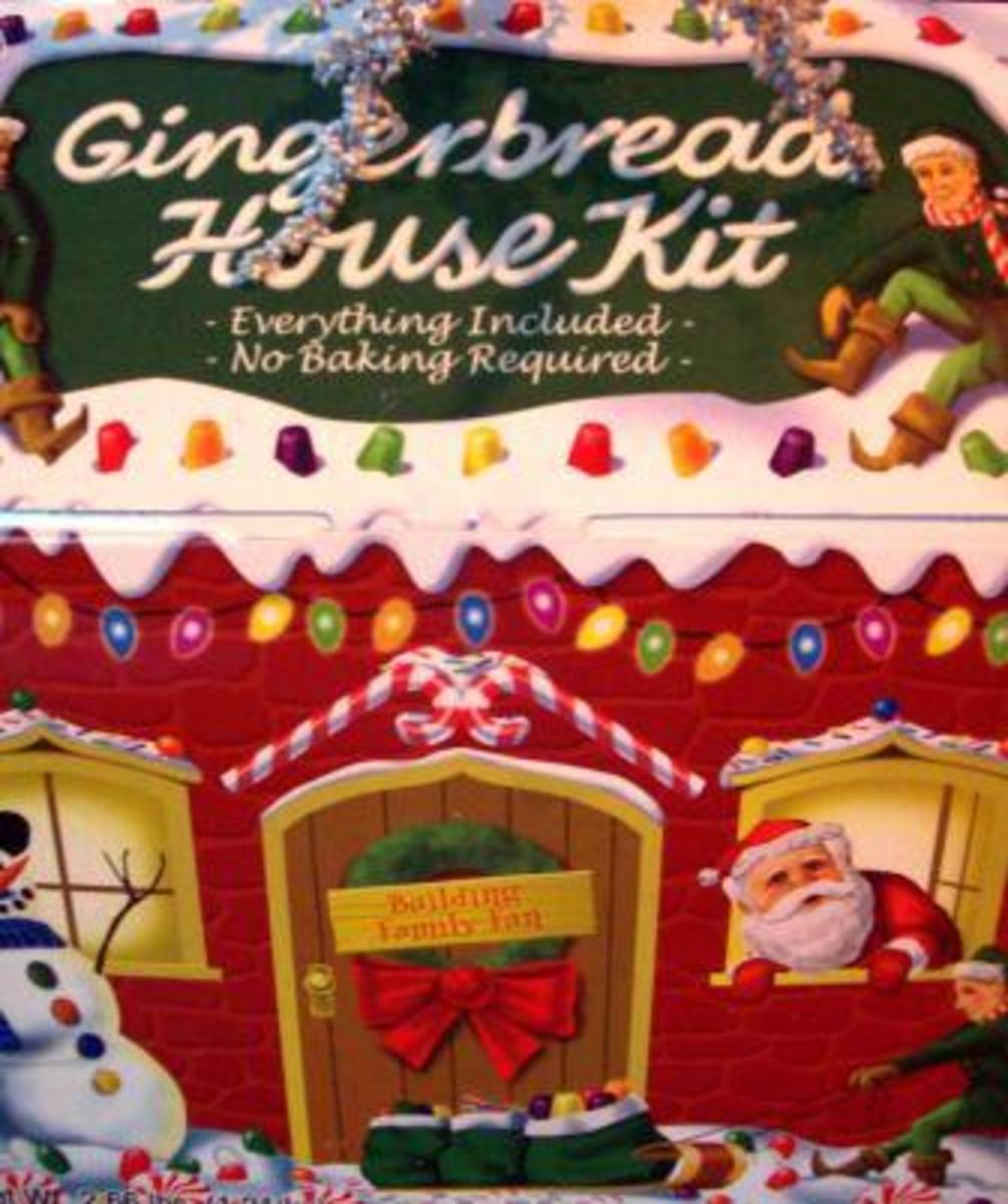 """Next year, I may try making the gingerbread house from scratch.  But for now, the """"Everything Included"""" package will make things easier.  I plan on recycling and/or reusing the cool box."""