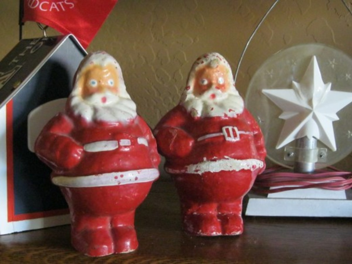 Some of my favorite Santas.