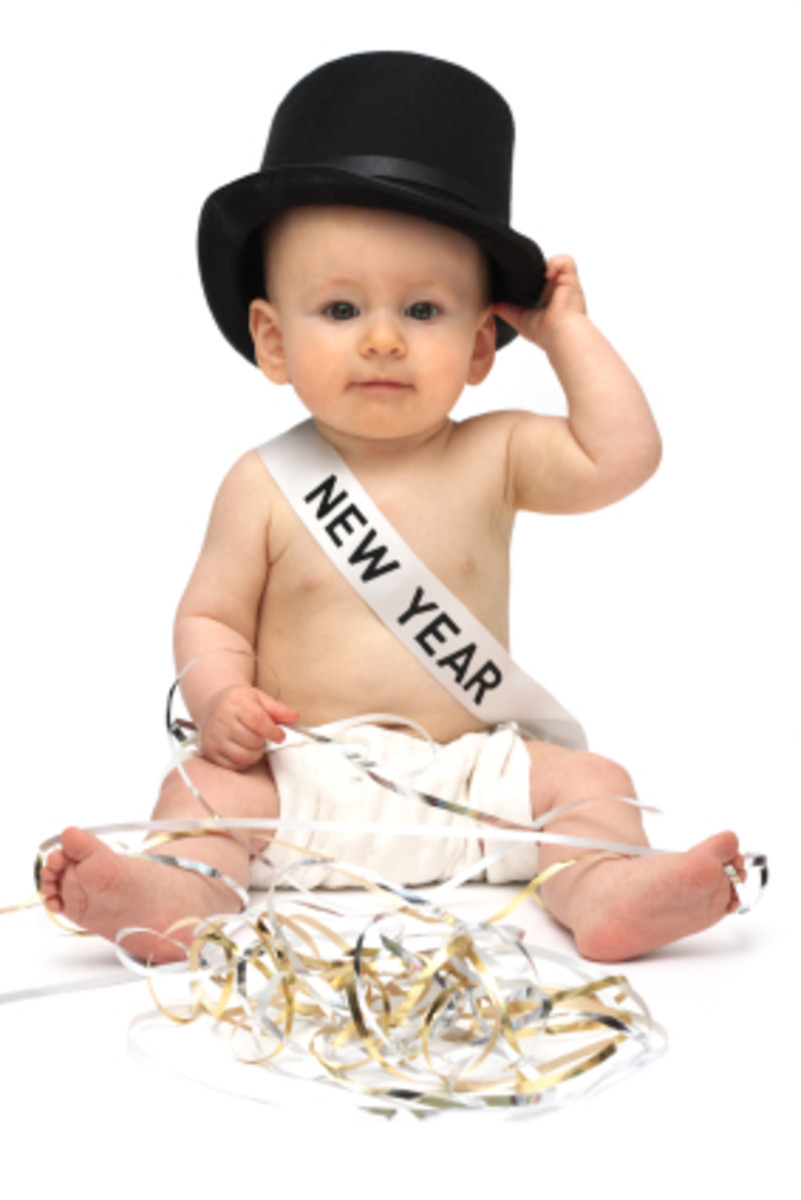 New Year's Baby