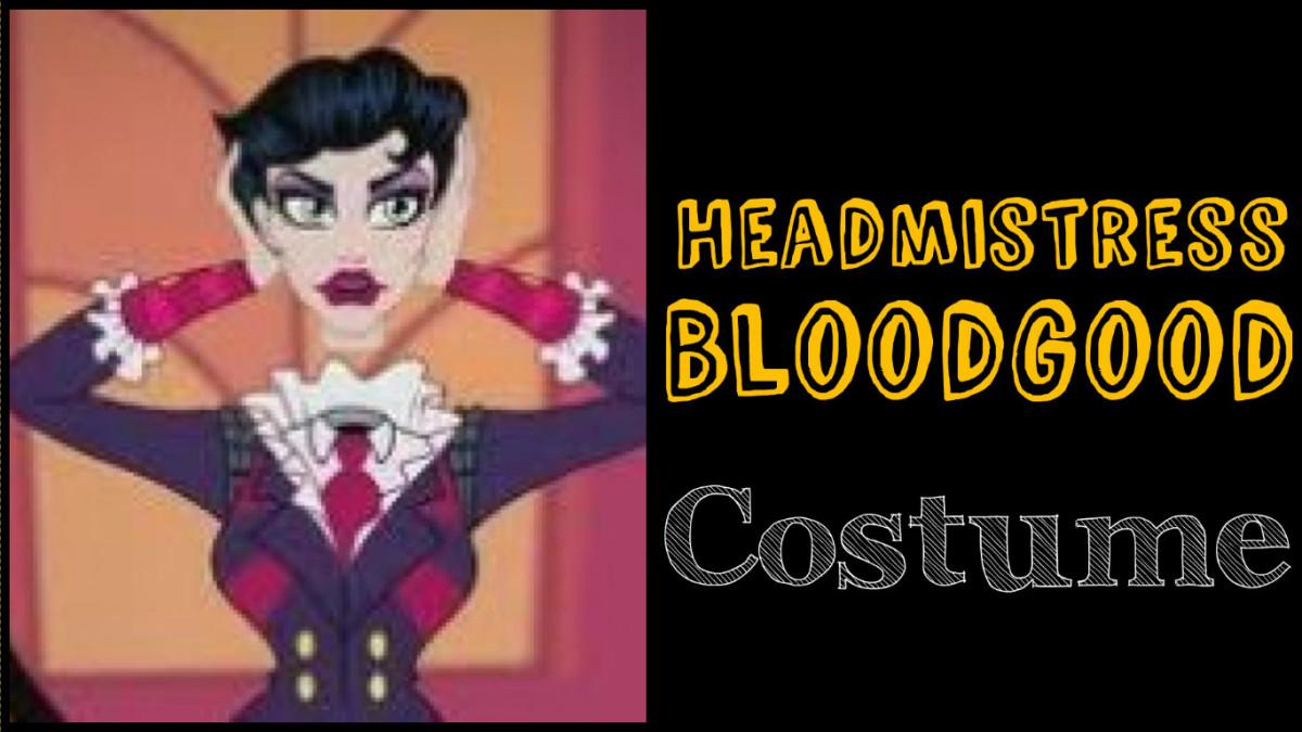 Headless Headmistress Bloodgood costume