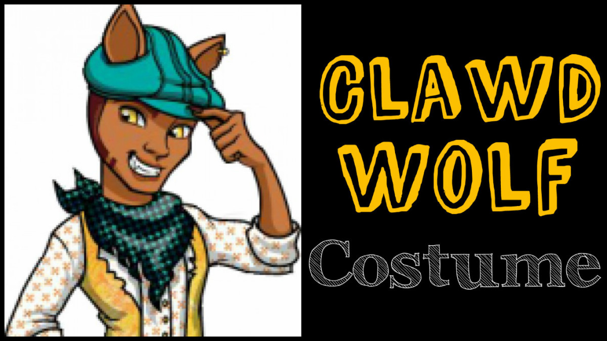 Clawd Wolf costume