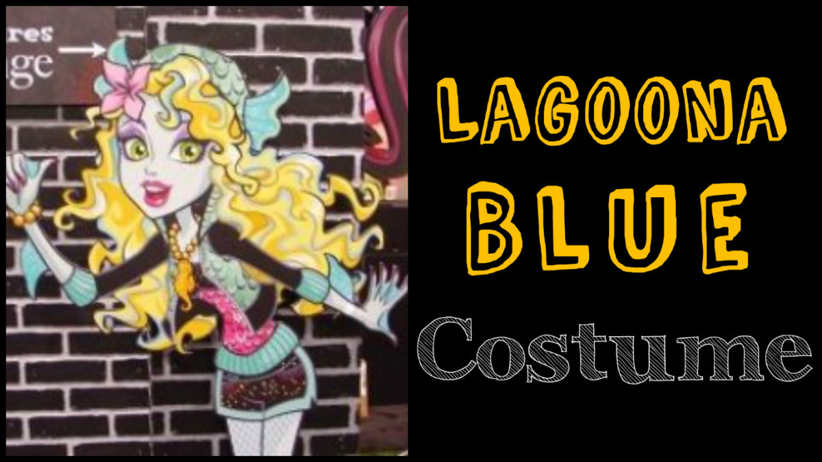 Lagoona Blue costume