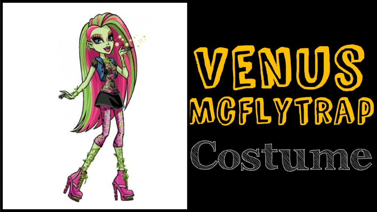 Venus McFlytrap costume