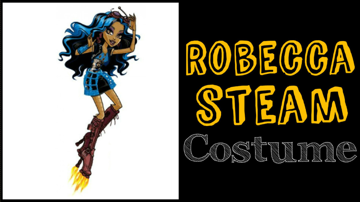 Robecca Steam. Robecca Steam costume  sc 1 st  Holidappy & DIY Monster High Costumes for Adults | Holidappy