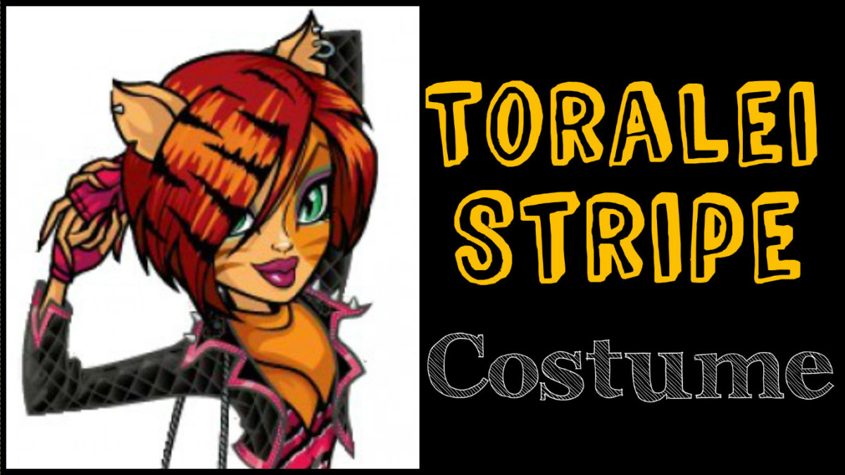 Toralei Stripe costume