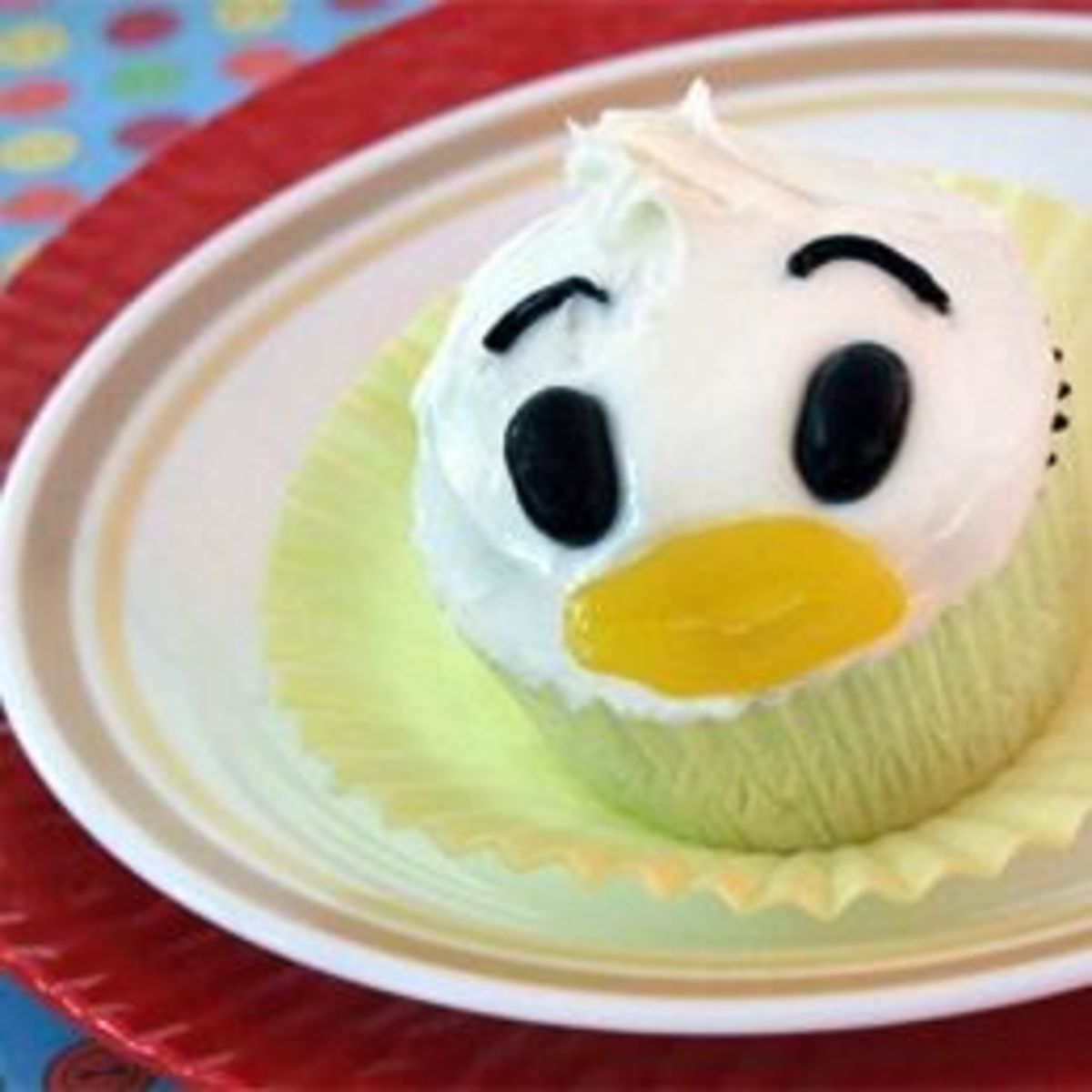 Donal Duck Cupcakes