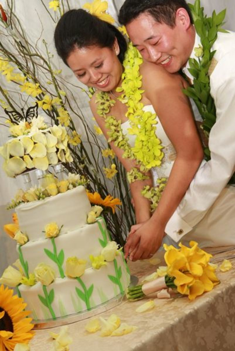 Cutting The Cake At Wedding Meaning