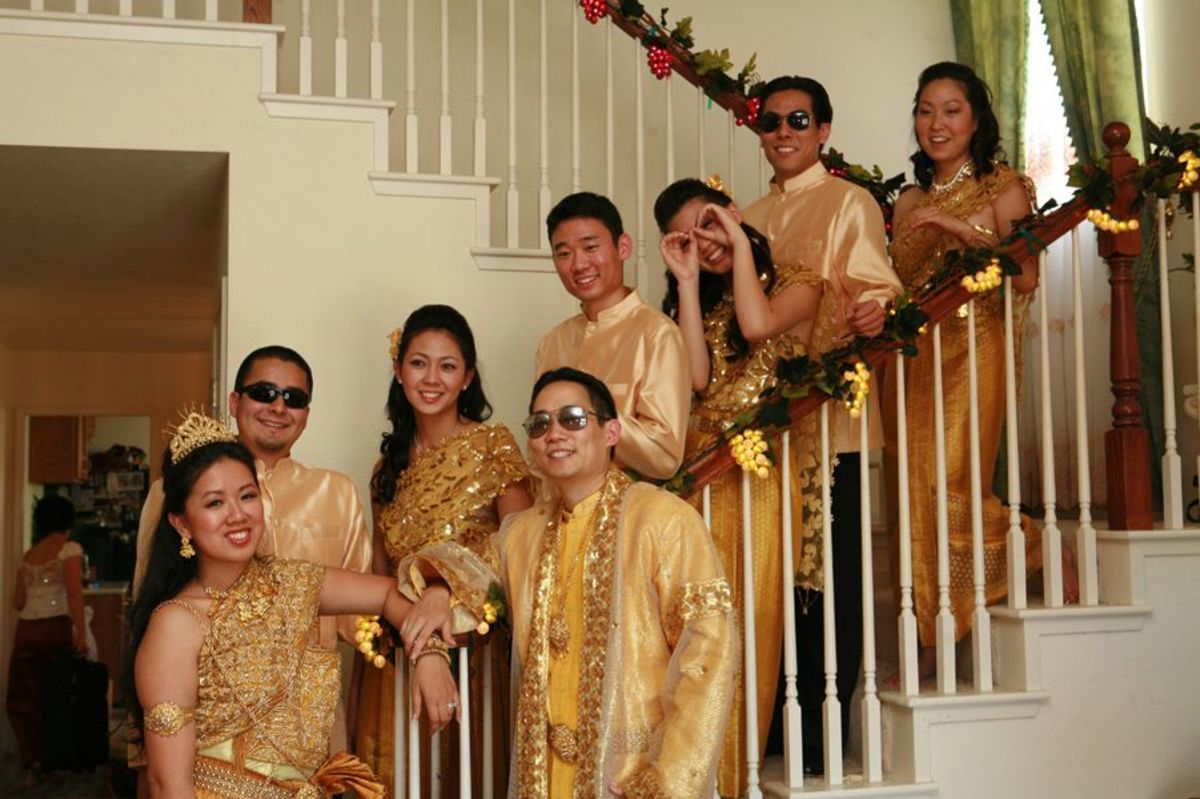 which are a traditional element in Khmer weddings Aren 39t we cool