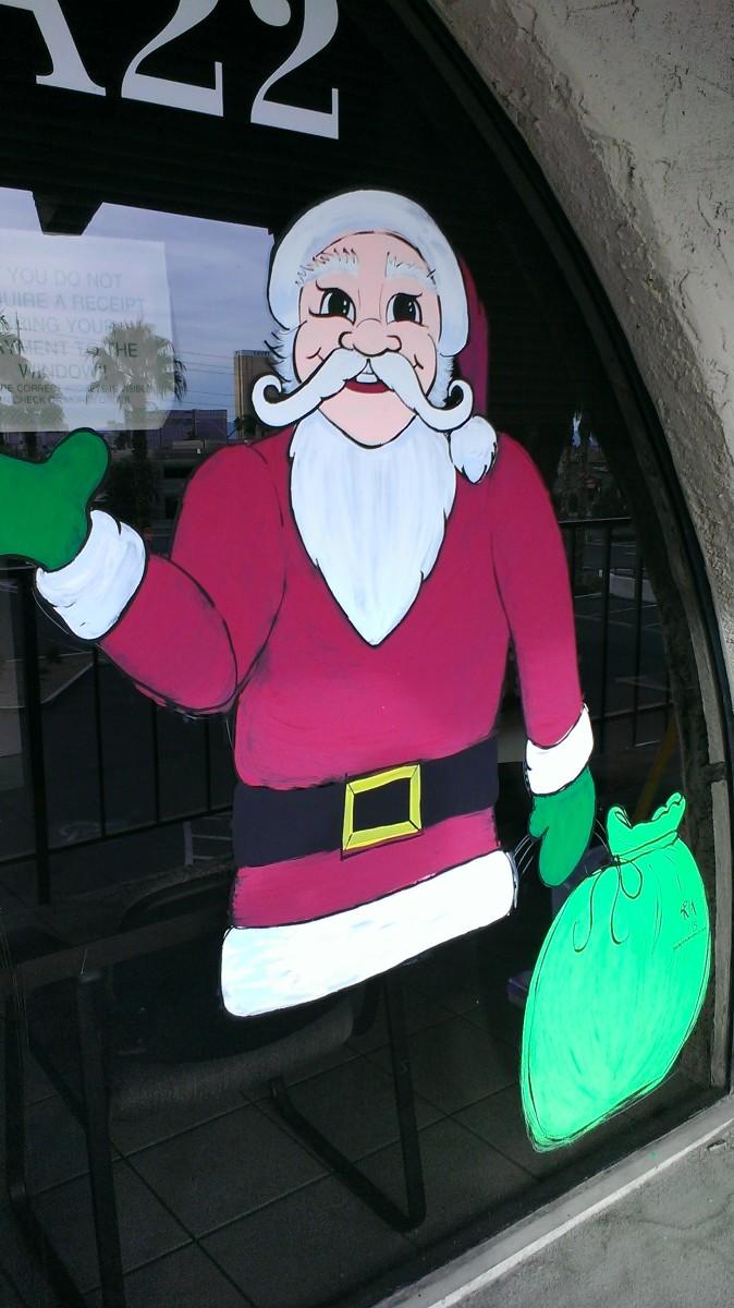 Santa at Desert Realty