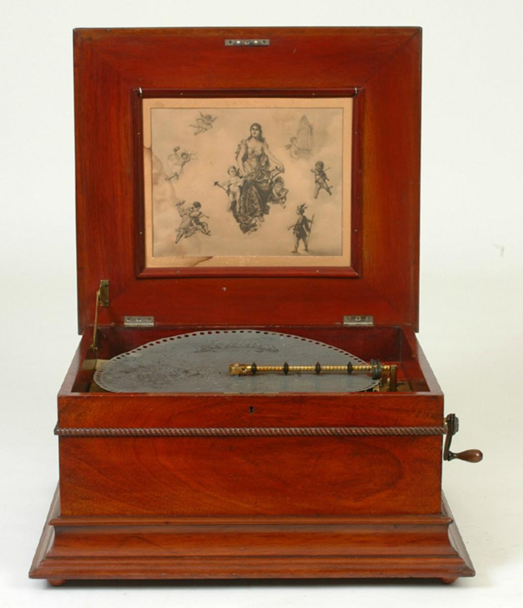My lovely Regina music box.