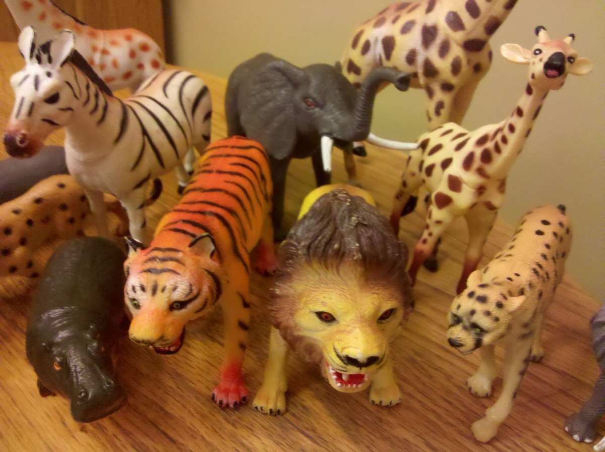 Kids will enjoy acting like wild animals in this fun party game!