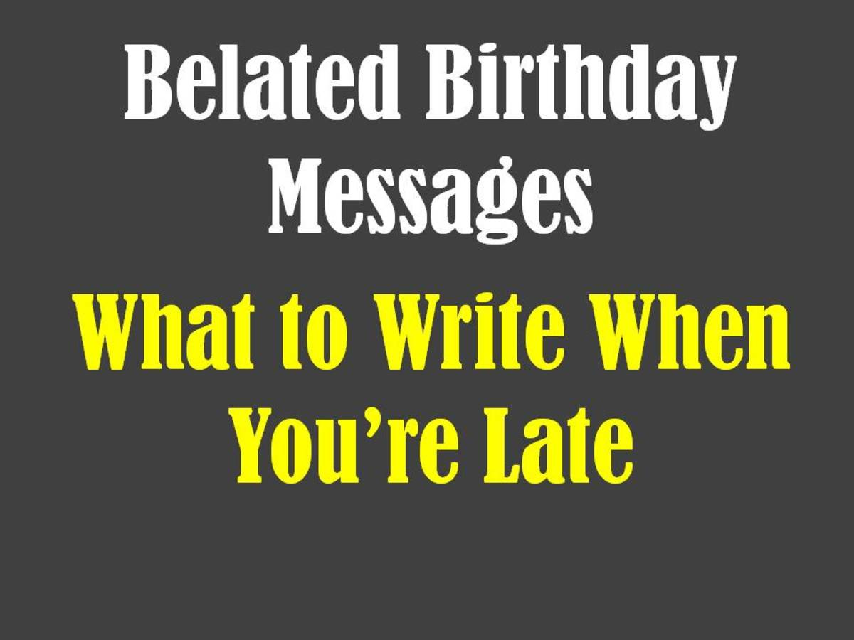 Belated Birthday Messages Funny And Sincere Card Wishes Holidappy