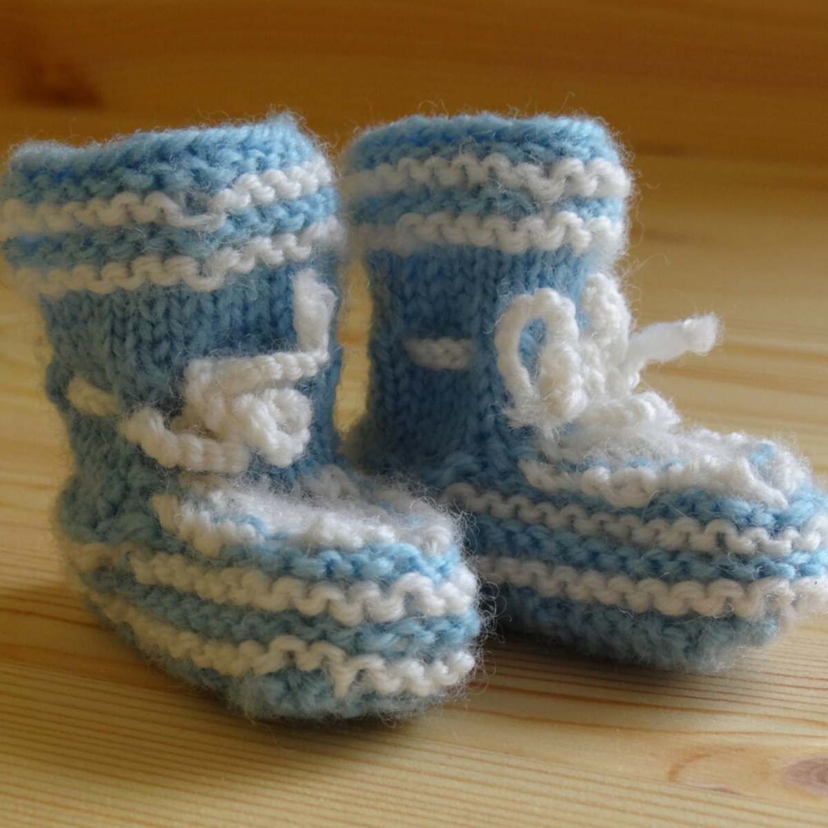 Babies don't really need to wear shoes until they start walking, but they sure look adorable in these faux-shoe socks.