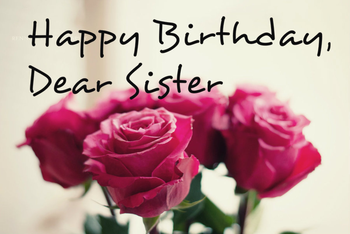 Happy Birthday Sister Card Messages