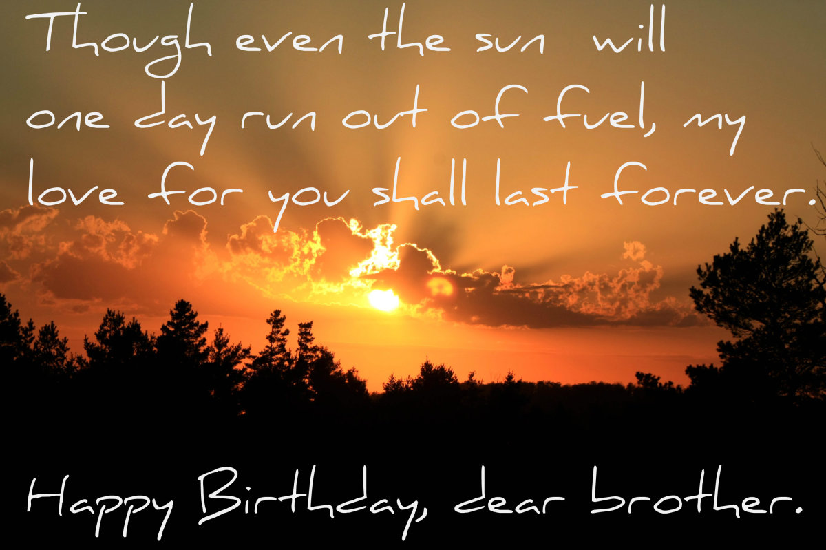 cc by 20 sweet birthday wish for your bro