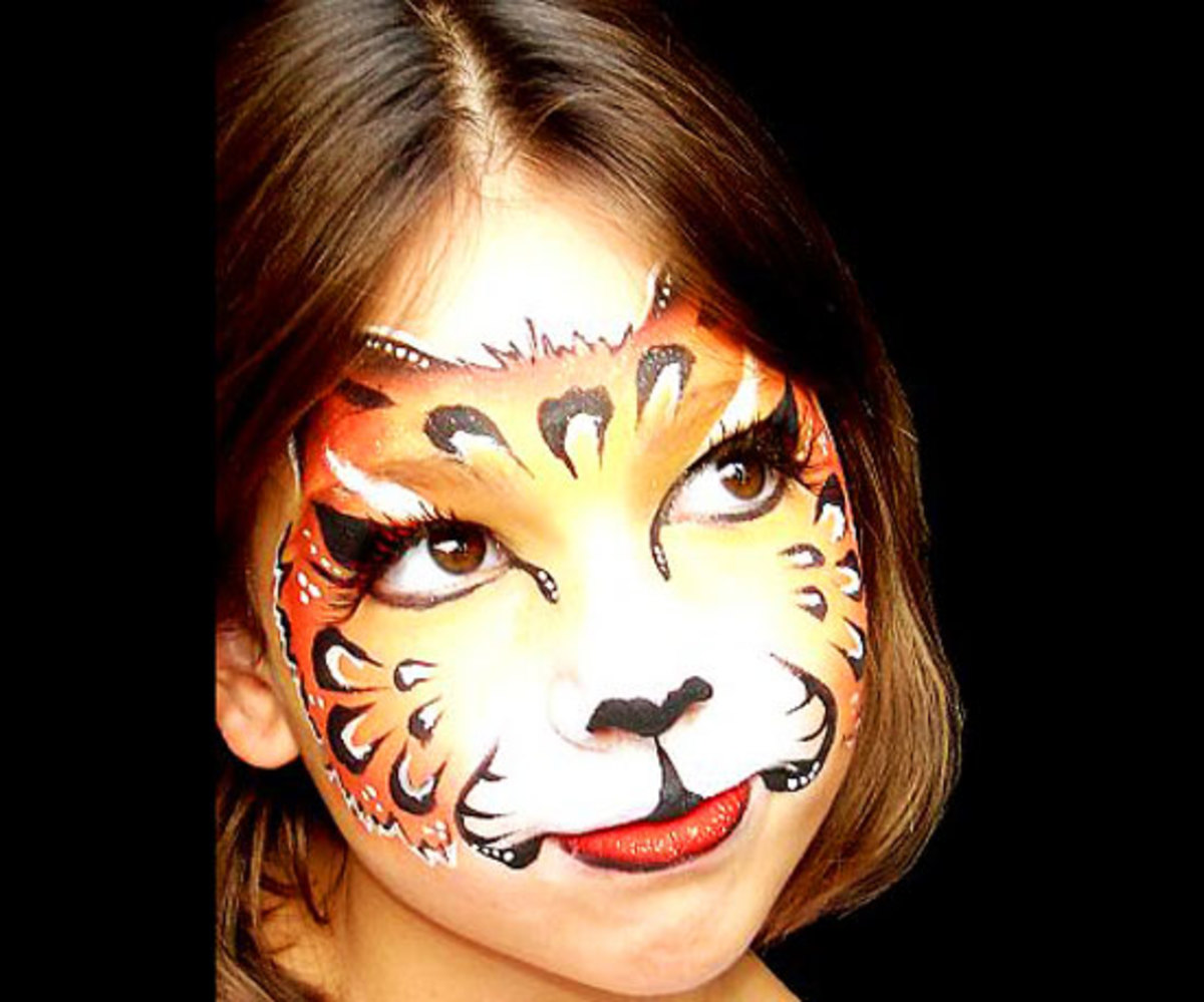 Cute Tiger Face Mask