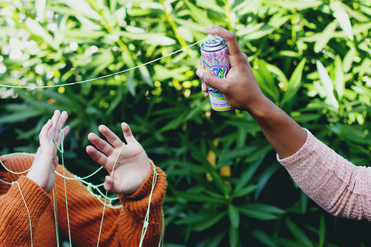 Silly String is a fun party idea that won't break your budget.