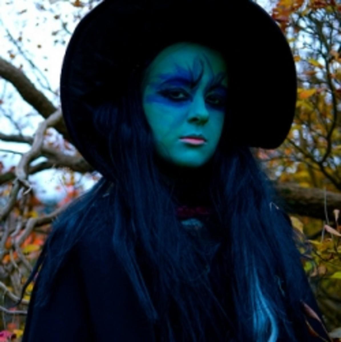 Witch Makeup Tutorials, Photos, Ideas   Holidappy