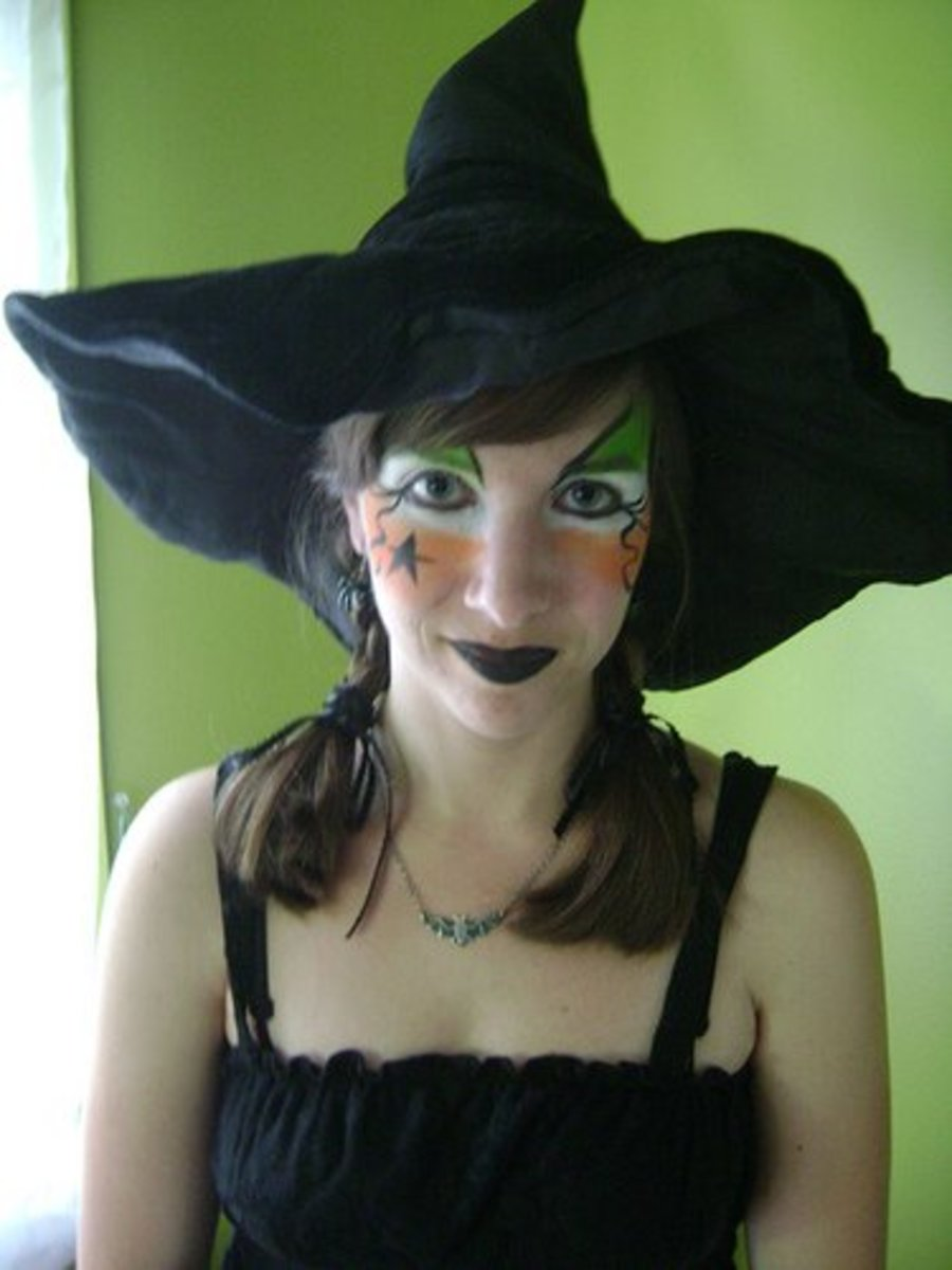 cute witch - Witch Halloween Makeup Ideas