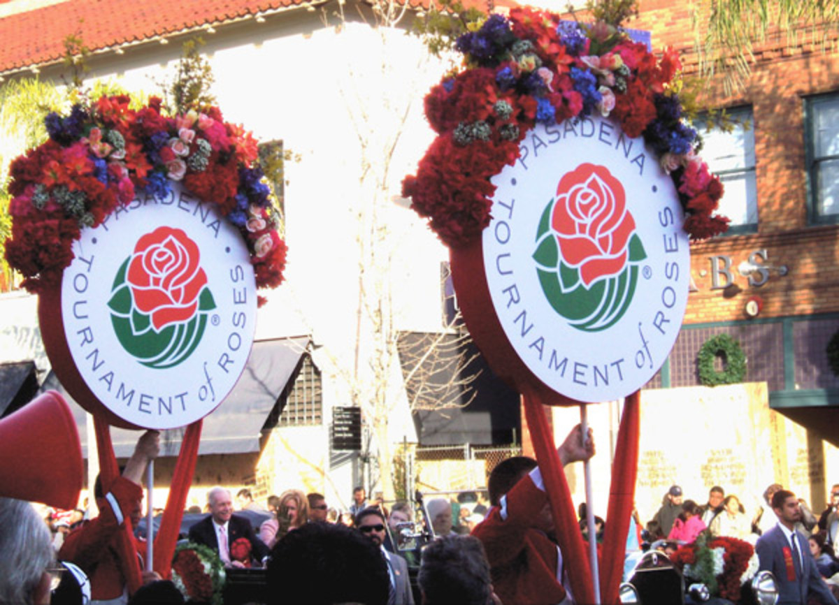 The annual Rose Bowl game and parade in Pasadena CA can get crazy with so many people around, but it will provide an unforgettable memory.