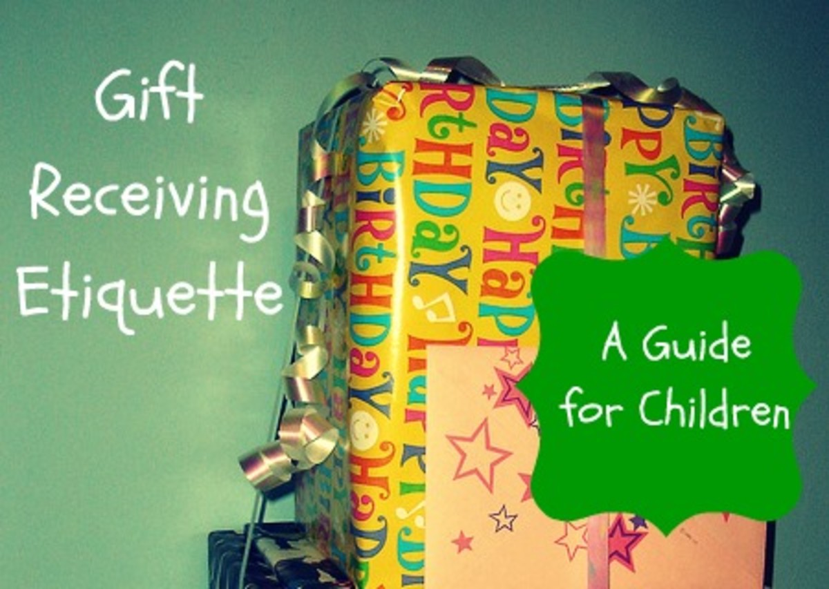 Gift Receiving Etiquette and Manners