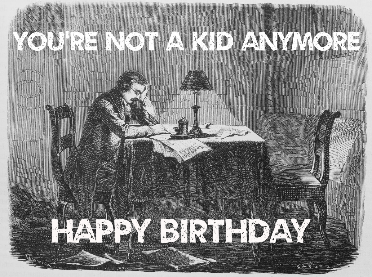 Send this image to the birthday boy/girl on social media, via text message, or in an email.