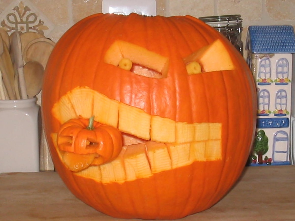 To the humorous, jack-o-lanterns are always fun.