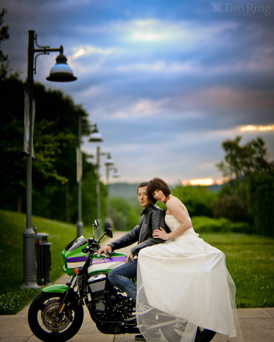 Biker Wedding - Unique Wedding Ideas and Wedding Decorations