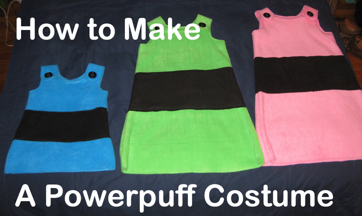How to Make a Powerpuff Costume