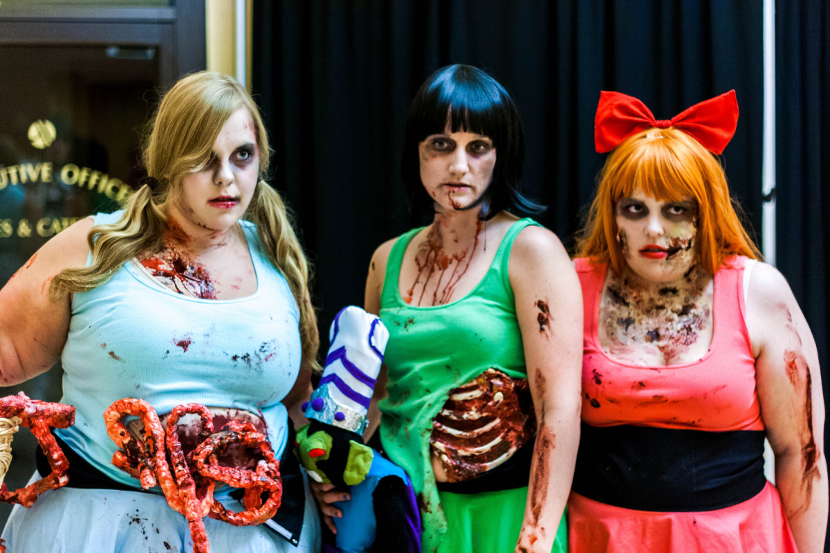 zombie powerpuff girls