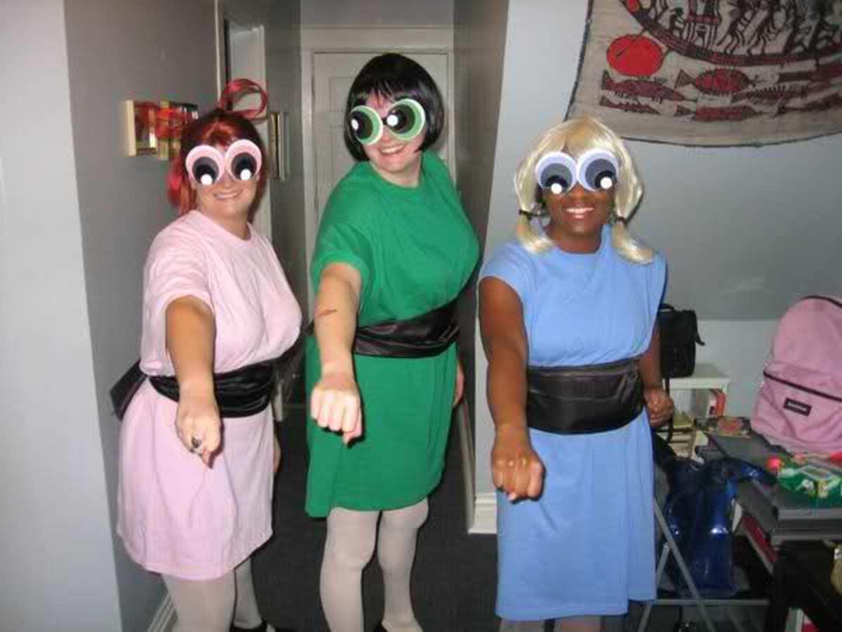 More Mature Powerpuff Girls