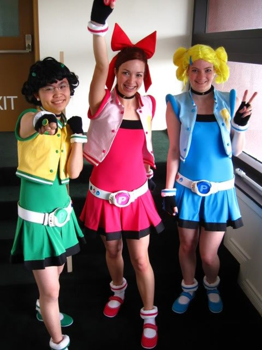 The Powerpuff Girls Homemade Costume And Makeup Ideas  Holidappy-9676