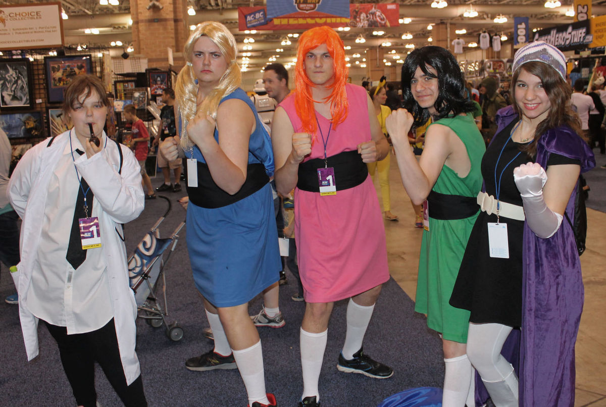 Powerpuff Girls in Drag