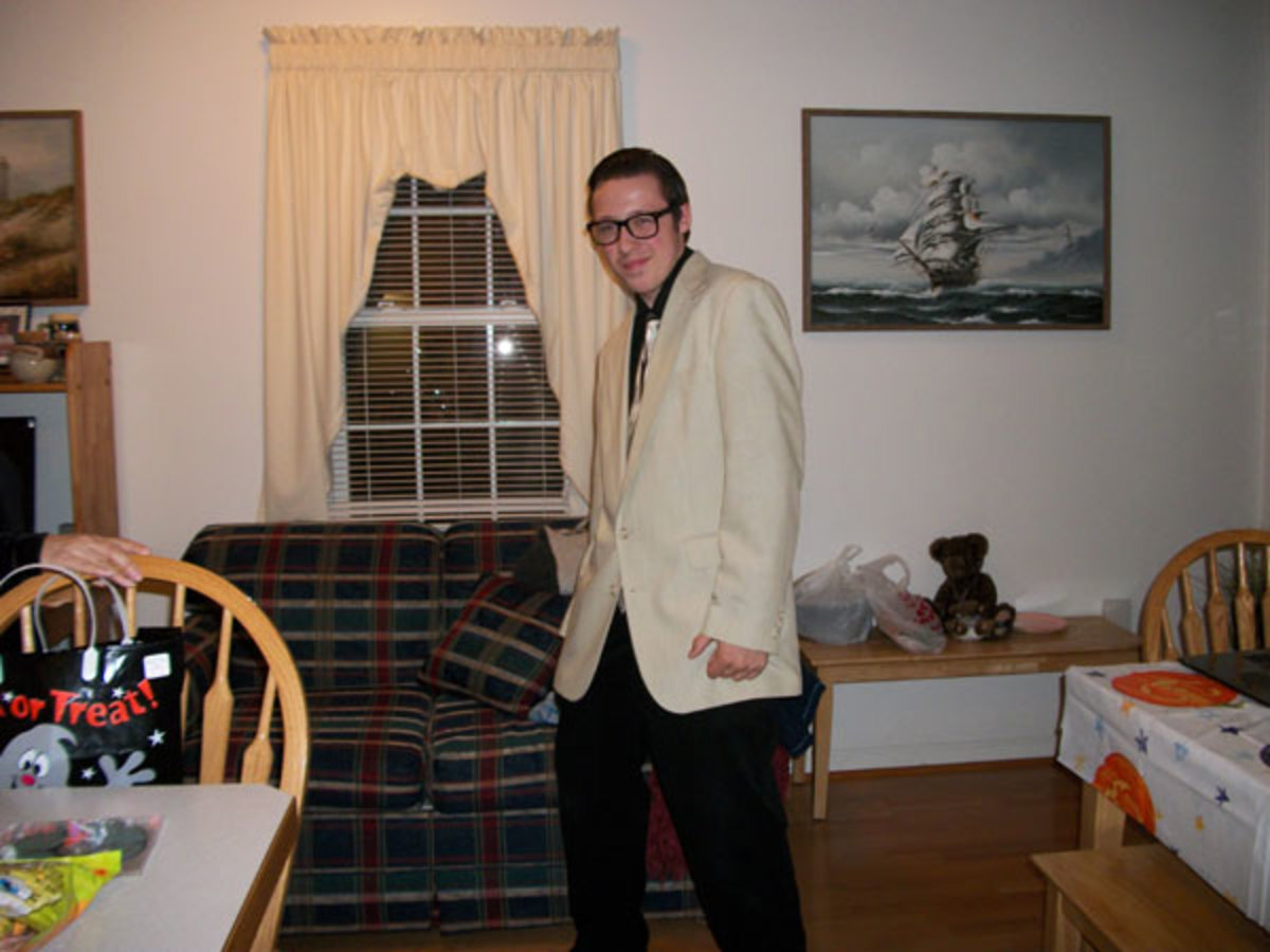 Scottie as Buddy Holly: voted The cutest