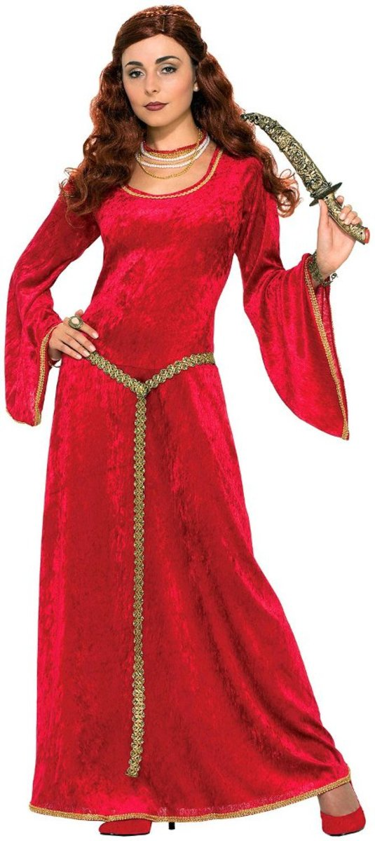 Great red riding costume dress for Buttercup from the Princess Bride