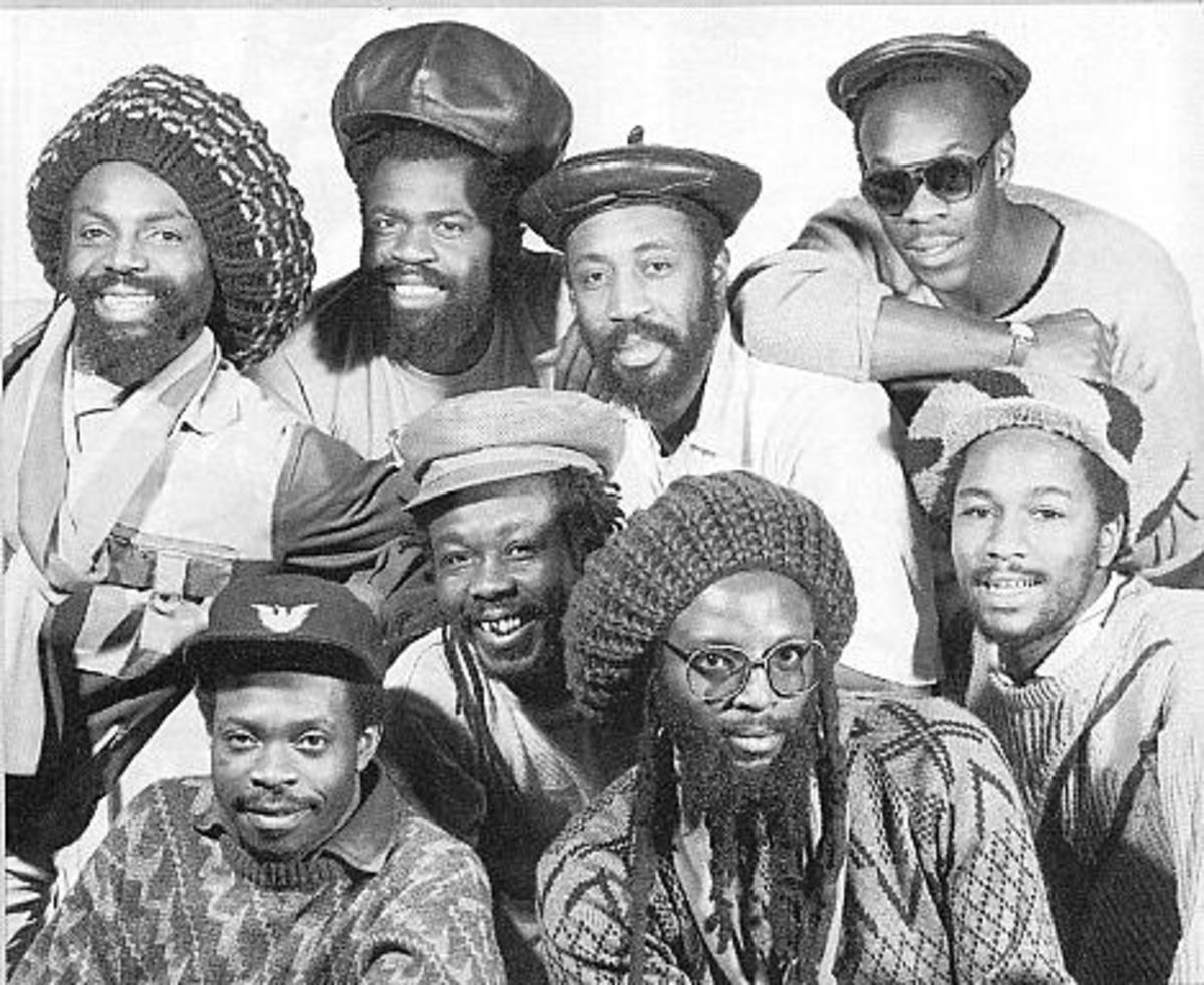 '80s reggae band Black Roots