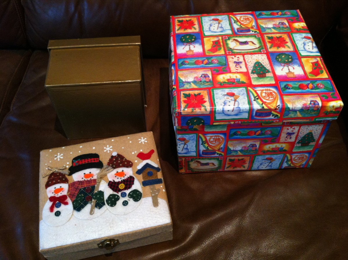 These boxes don't requiring wrapping and can be reused in future years.
